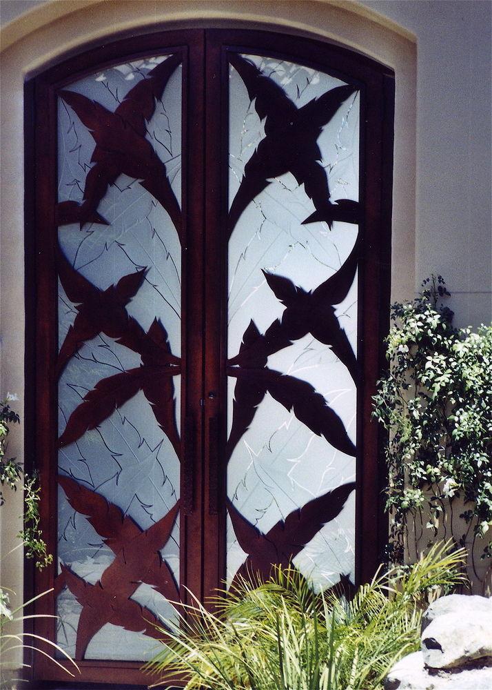 Decorative Gates Sans Soucie Art Glass
