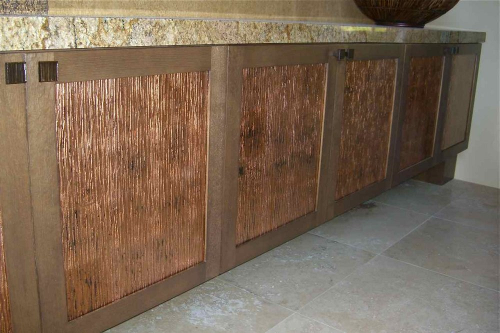 granite for cherry cabinets