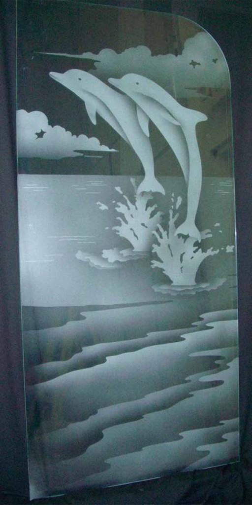 Glass Shower Door Sans Soucie Art