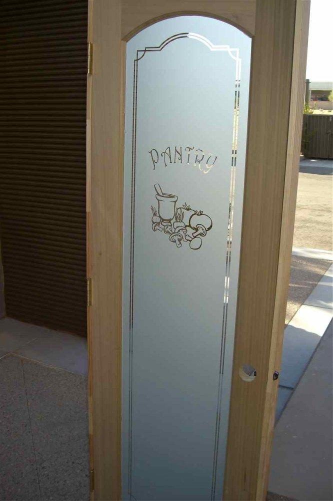 Etched Glass Laundry Room Door Sans Soucie Art Glass