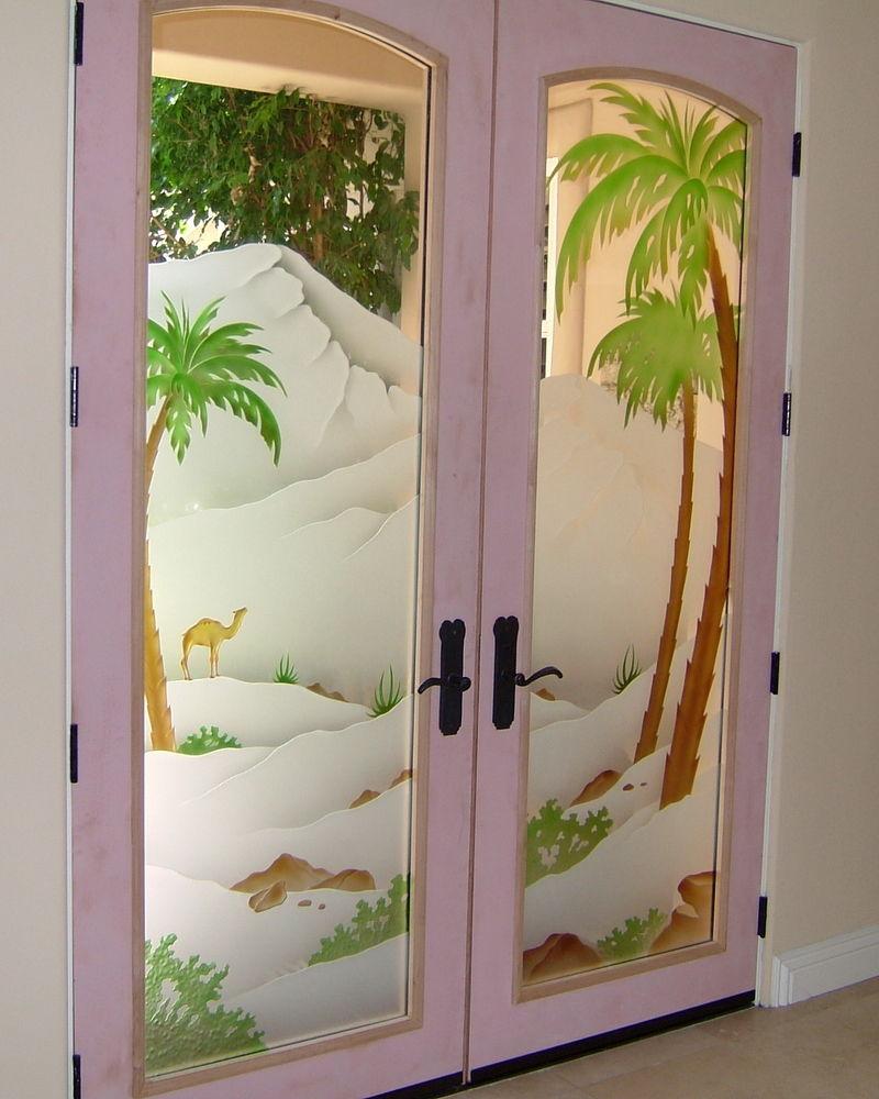 Glass etching sans soucie art glass for Door design glass
