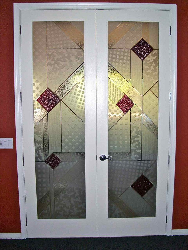 Etched glass doors sans soucie art glass for Etched glass entry doors