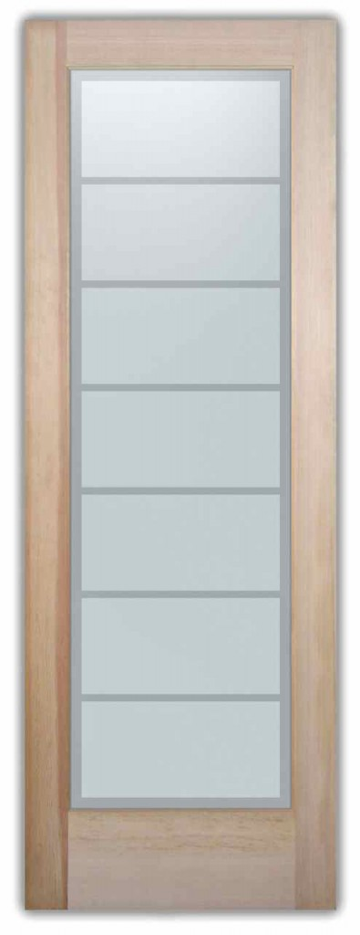 Interior single door with frosted glass contemporary interior doors - Privacy Glass Sans Soucie Art Glass