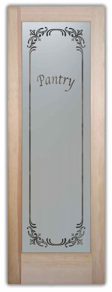 Pantry Door Etched Glass Sans Soucie Art Glass