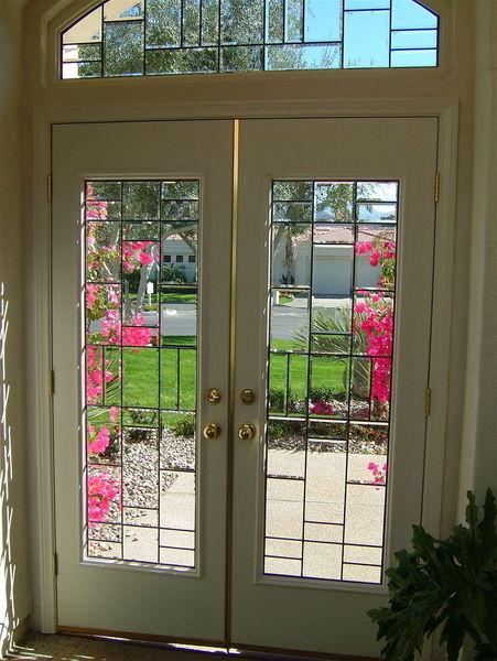 Beveled Glass Doors Windows Squares