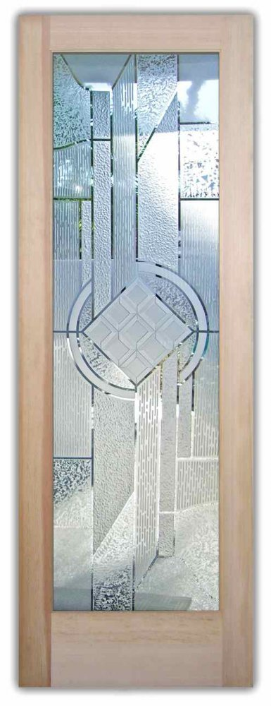 Geometric Designs Sans Soucie Art Glass