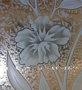 Foliage Designs Sans Soucie Art Glass