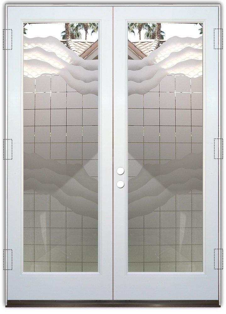 Contemporary glass designs sans soucie art glass for Door window patterns