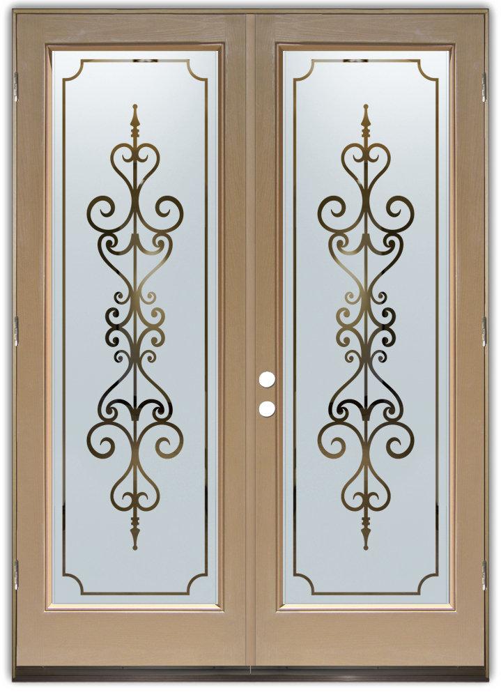 Art Glass Entry Doors