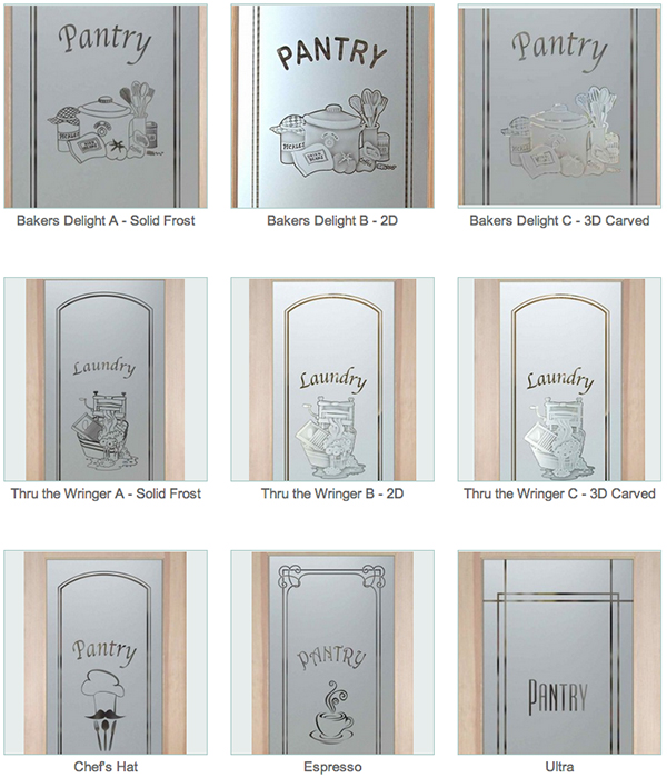 Decorative Glass Pantry Door Sans Soucie Art Glass