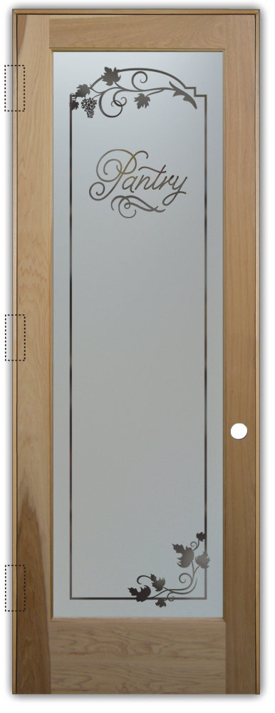 Pantry Doors With Style Sans Soucie Art Glass