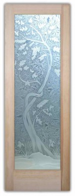 interior glass door sapling 3D