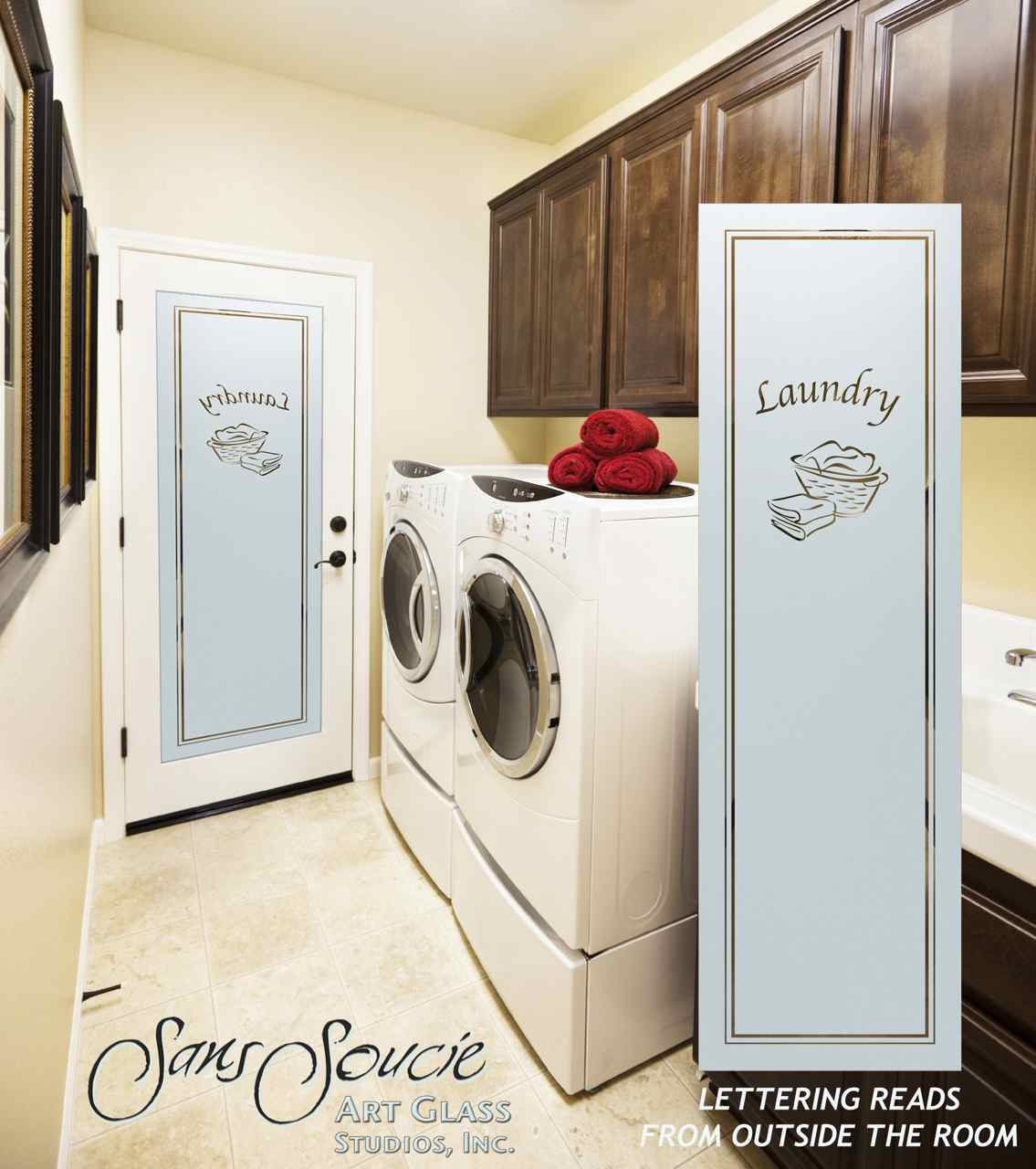 Frosted Glass Laundry Room Doors Sans Soucie Art Glass
