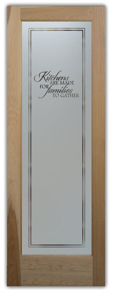 kitchen pantry doors - Sans Soucie Art Glass