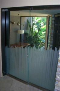 Cane Frameless All Glass Doors