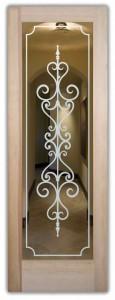 Carmona Positive Interior Doors with Glass