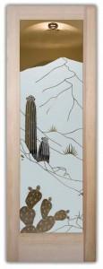 Desert Cactus Negative