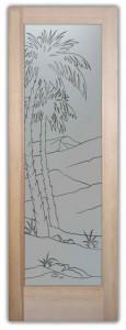 Desert Palms Pinstripe