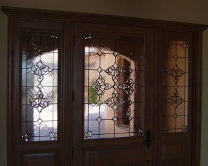 Beautiful Bevels Door Glass Inserts