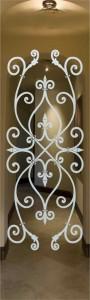 Corazones Door Glass Inserts