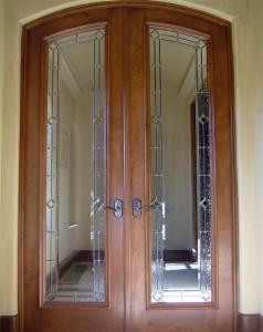Diamonds & Seedy Clear Door Glass Inserts