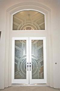 Sun Odyssey Entry VII Door Glass Inserts