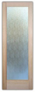 Eurofrost Etched Glass Doors Contemporary Design