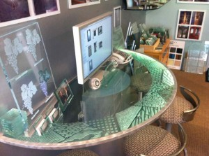 Matrix Edge Glass Coffee Tables
