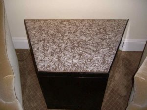 Speckle Brown Glass Coffee Tables