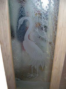 Egret Pantry Glass Door Inserts