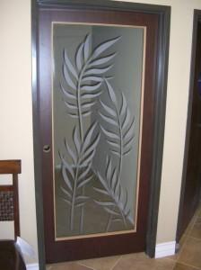 Ferns Interior Glass Door Inserts