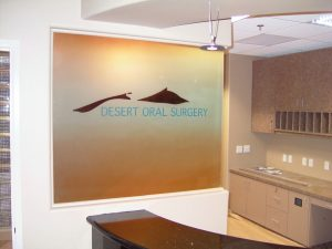 Desert Oral Surgery Glass Partitions Enclosed