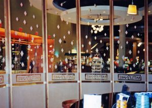 Rattlesnake Grill Glass Partitions Enclosed