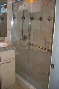 Ocotillo Sliding Glass Shower Enclosures