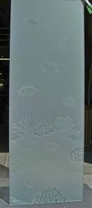 Ocean Aquarium Glass Shower Panels