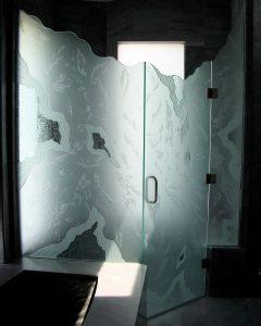 Glacier 3D Private Shower Enclosure