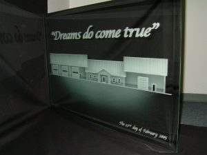 Glass Signs Etched Glass Signs Custom Signs