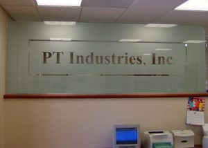 PT Industries Glass Signs