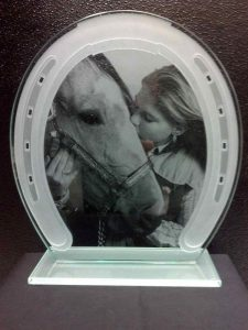 Stallion Affection Glass Signs