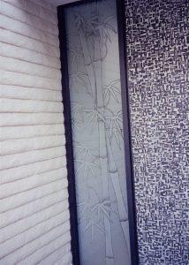 Bamboo Shoots Sidelite Window