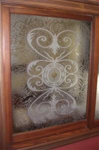 Lazio II Glass Window