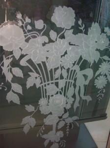 Palm Springs Florist Glass Window