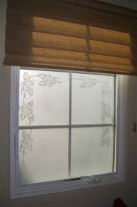 Rose Border Windows