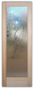 High Tide Cast Glass Beach Style Glass Doors