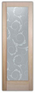 Eastleigh Victorian Design Interior Etched Glass Doors