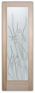 Iris Front Doors with Glass
