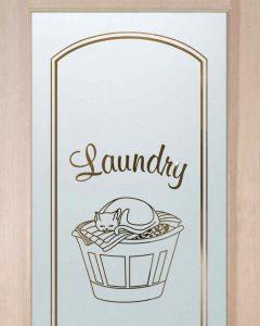 Comfy Cozy Laundry Room Door