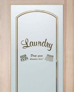 Drop Your Drawers Arched Laundry Room Doors