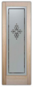 Maya Pantry Door Frosted Glass