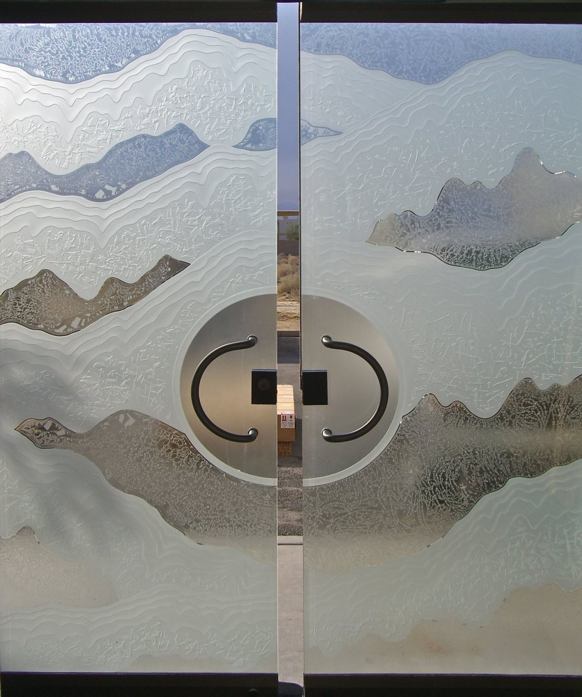 Metashore Layers Frameless Glass Doors